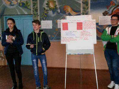 Як стати активним учасником подій у громаді? Воркшопи для молоді – «Я громадянин» допомагають школярам самовизначитися та зробити їх життя цікавішим