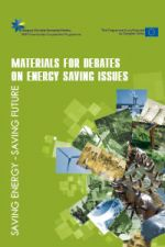 Materials for debates on energy saving issues