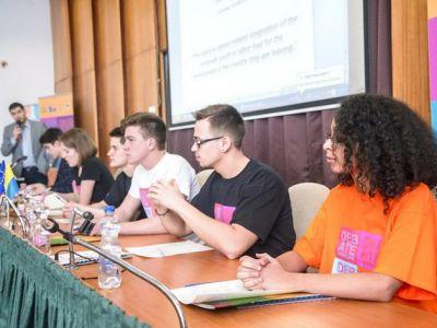 Дебатний турнір в рамках проекту  «Дебатна молодіжна ліга»